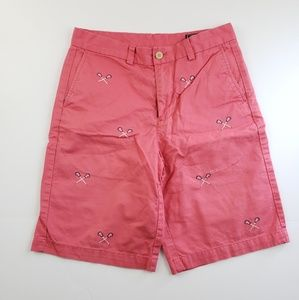 Vineyard Vines Boys Shorts Peach Salmon Size 16